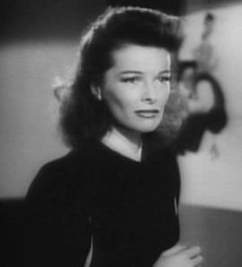 Cropped screenshot of Katharine Hepburn from t...