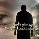 God still working on ME