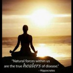 Natural Force Within US is the Healer of Disease Hippocrates